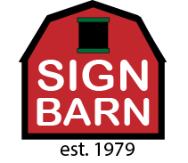 Sign Barn - Sheffield in the Berkshires Massachusetts logo