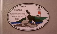 custom magnet for national specialty - 4x6 oval with custom artwork