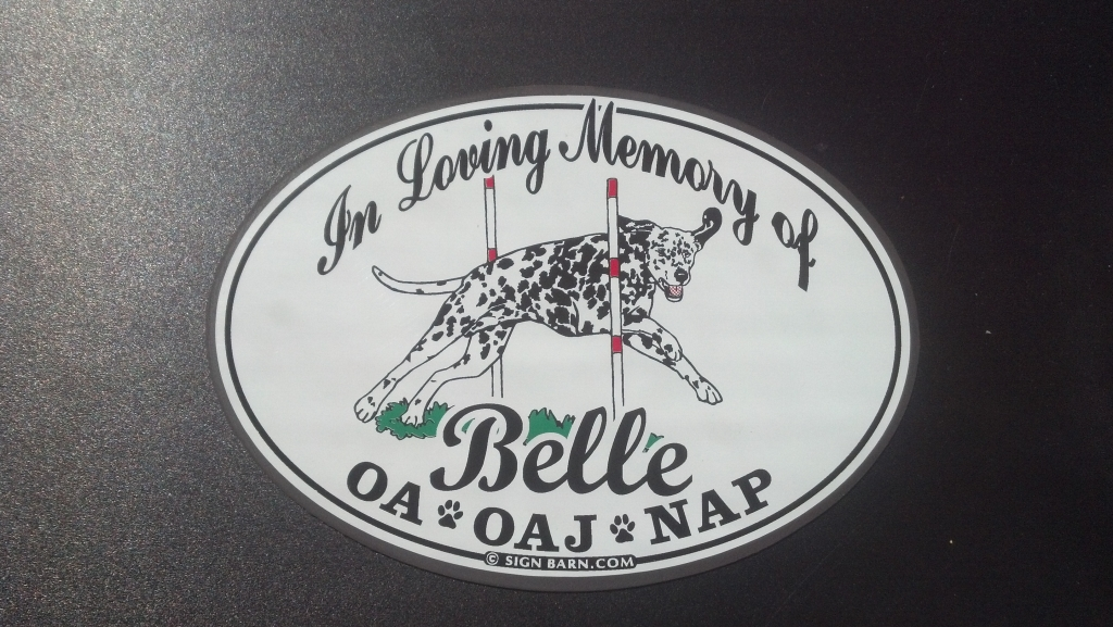In loving memory magnet - Sign Barn graphics