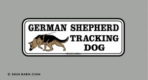 German Shepherd Tracking Dog
